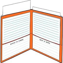 StoreSMART® School / Home Folders - 6-Pack - 6 Colors! - Letter-Size Twin Pocket - Durable, Archival Plastic - SH900PCP6ENG