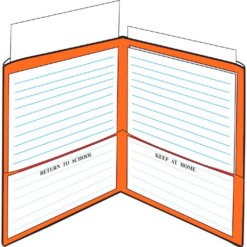 StoreSMART - Plastic School / Home Folders Archival Folders - Primary Colors 72 Pack - 12 Each of Six Bright Colors (SH900PCP72ENG) by STORE SMART (Image #4)