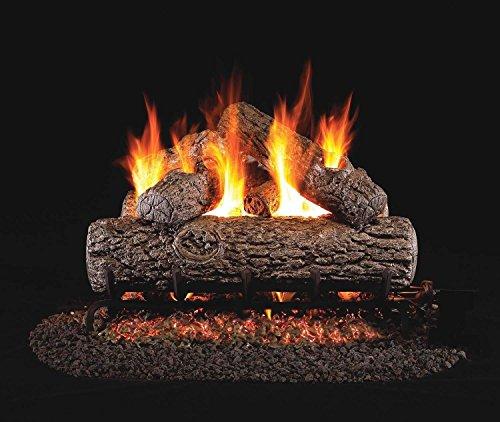 RealFyre Golden Oak Vented Gas Logs (R-12), 12-Inch