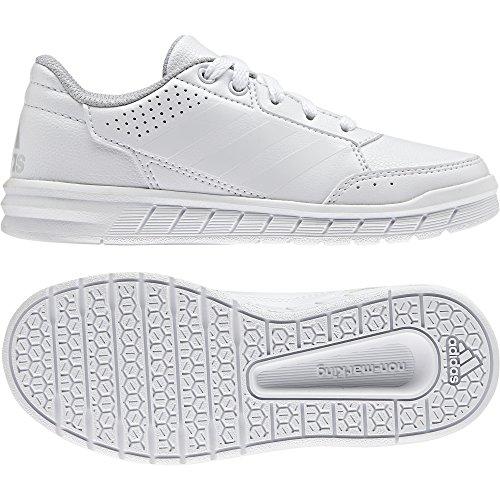 adidas AltaSport CF K - Zapatillas de deporte para niños, Blanco - (FTWBLA/ROSFUE/FTWBLA), -33