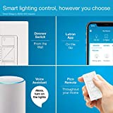 Lutron Caseta Smart Home Dimmer Switch, Works