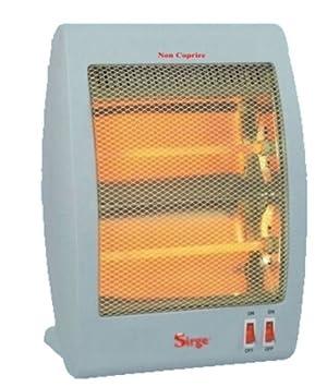 Sirge Caldoamore - Estufa de cuarzo, 800 W (bajo consumo 400 + 400 y calor inmediato), 2 elementos, radiador calefactor para hogar u oficina: Amazon.es: ...
