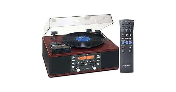 Amazon.com: TEAC lp-r550usb CD Grabador Cassette Turntable ...