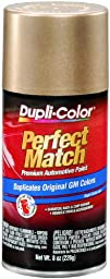 Dupli-Color EBHA09417 Gold Metallic General Motors Exact-Match Automotive Paint - 8 oz. Aerosol