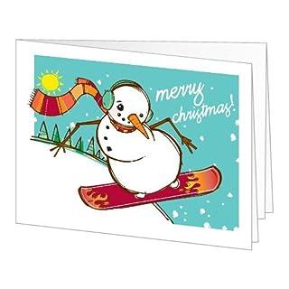Amazon Gift Card - Print - Merry Christmas (Snowboarding Snowman) (B004KNWWVI) | Amazon price tracker / tracking, Amazon price history charts, Amazon price watches, Amazon price drop alerts