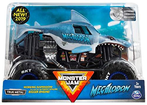 Monster JAM 1:24 Scale Megalodon New 2019 (Original Version)