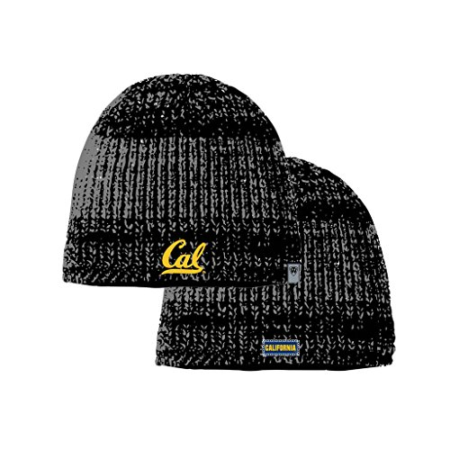 Cal Bears Official NCAA Leeward Uncuffed Knit Beanie Stocking Hat Cap 266484