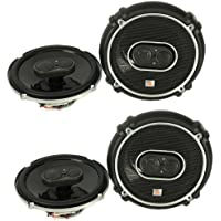 4) New JBL GTO638 6.5 - 6.75 360W 3 Way Car Audio Coaxial Speakers Stereo