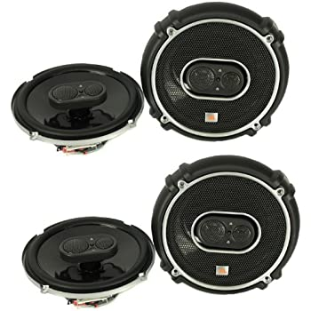 "4) New JBL GTO638 6.5"" - 6.75"" 360W 3 Way Car Audio Coaxial Speakers Stereo"