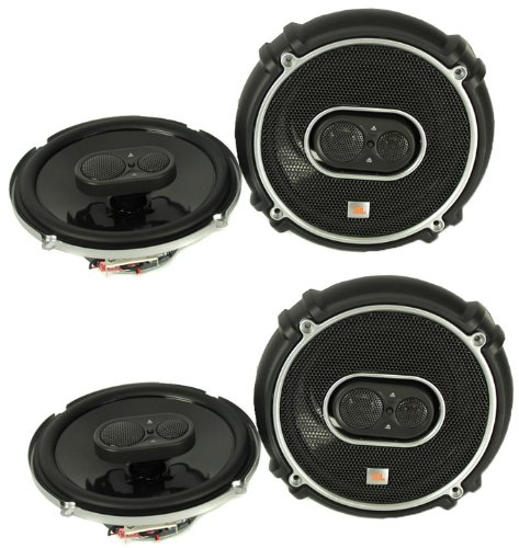 4) New JBL GTO638 6.5'' - 6.75'' 360W 3 Way Car Audio Coaxial Speakers Stereo by JBL