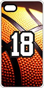 iphone covers Basketball Sports Fan Player Number 17 White Plastic Decorative Iphone 5 5s Case