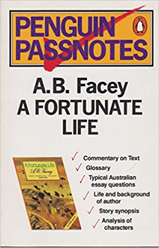 AB Facey A Fortunate Life Penguin Passnotes Don Grant 9780140770568 Amazon Books