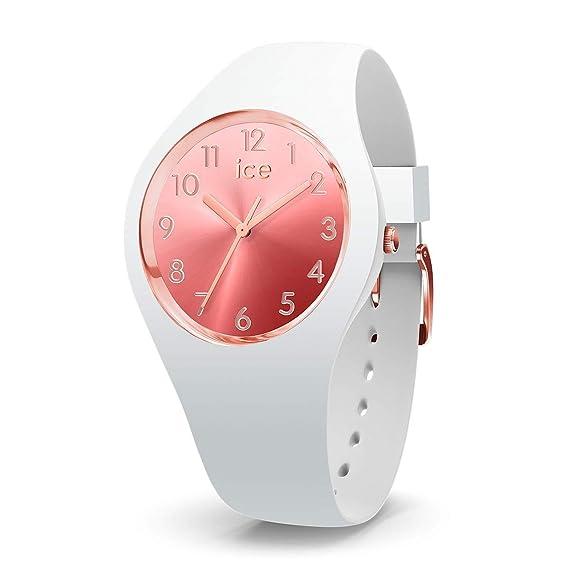 Ice Watch Reloj Analógico para Mujer de Cuarzo con Correa en Silicona 15744
