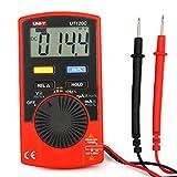 TPmall UT120C 3 3/4 Auto Ranging Digital Multimeter, AC/DC Current Voltage Tester , Motor and Radio Equipment
