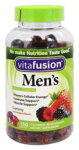 Vitafusion Mens Flavor Gummy Vitamins 150ct NEW LOOK