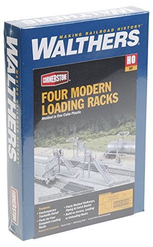 Walthers SceneMaster Four Modern Loading Racks