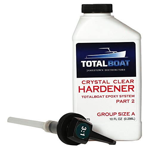 TotalBoat Epoxy Crystal Clear Hardener (10 Ounces)
