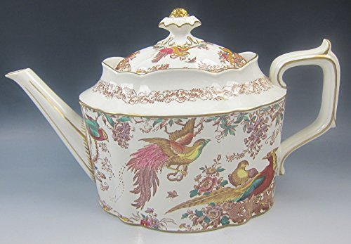 Royal Crown Derby China OLDE AVESBURY (CHELSEA) 5 Cup Tea Pot with Lid EXCELLENT