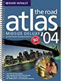 2004 Deluxe Midsize Road Atlas, Rand McNally Staff, 0528845128
