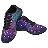Cheap InterestPrint Women's Jogging Running Sneaker Lightweight Go Easy Walking Casual Comfort Sports Running Shoes Size 10 Mystical Geometry Symbol on Abstract Space