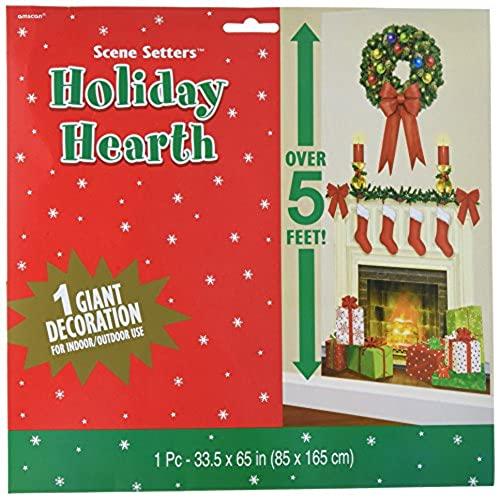 fireplace christmas decorations amazoncom - Fireplace Christmas Decorations Amazon