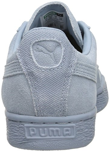 Scarpa da tennis classica da uomo in pelle scamosciata classica, nebbia blu, 10,5 M US