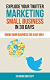 Explode Your Twitter Marketing Small Business In 30 Days: Grow your business the easy way