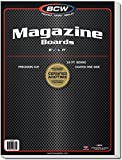 BCW Supplies - BBMAG - Magazine Size Backing Boards - White - (1000Boards)
