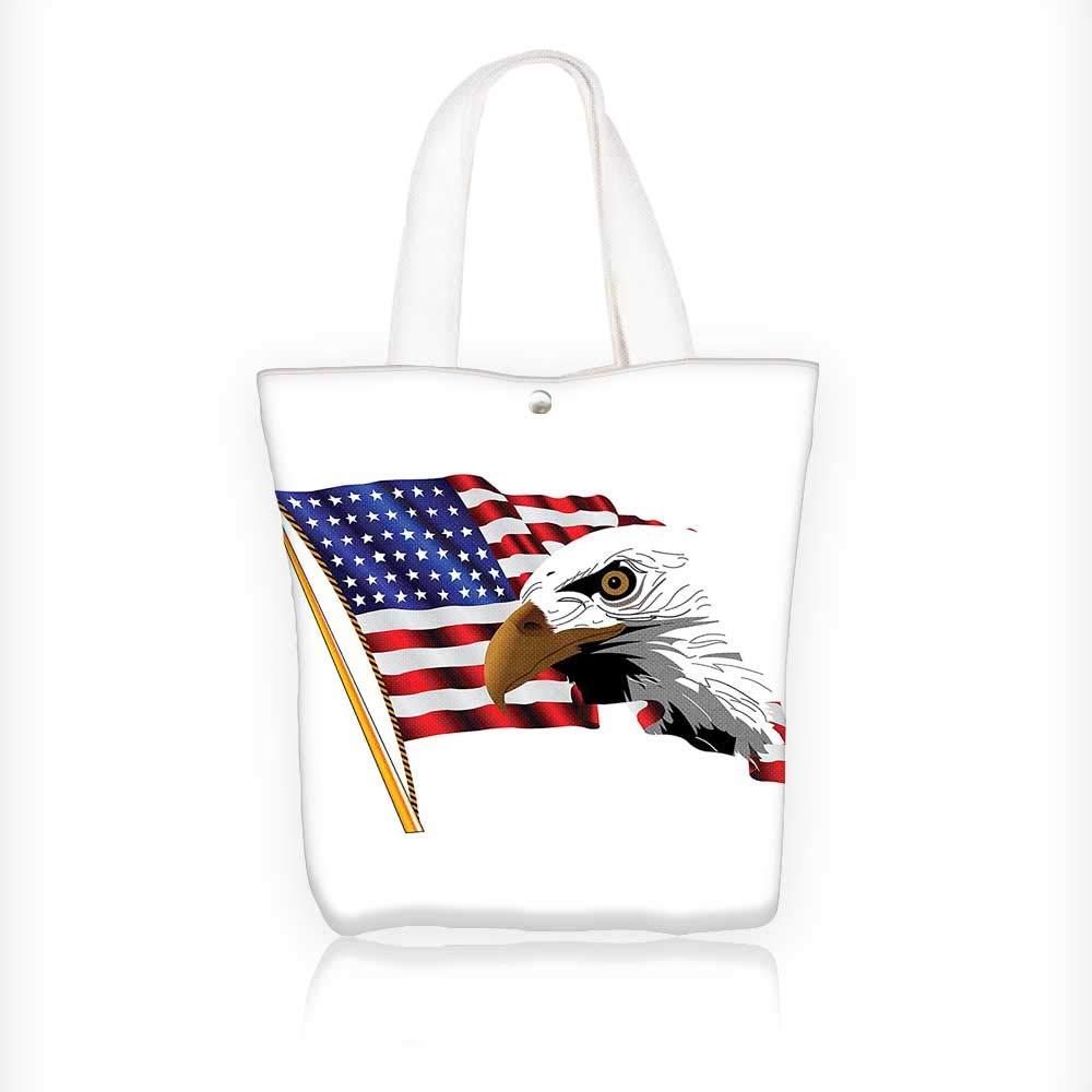 Amazon.com  Canvas Tote Bag Tribal Chief Headdress with s and Beads Arrow  Print Orange Blue Zipper Closure Grocery Shopping Bag Shoulder Bag for  Women Girls ... 641efc84efcda