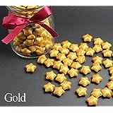 FQL 1 Bottle Of Star Shape Sealing Wax Sticks Beads For Wax Seal Stamp (Gold)