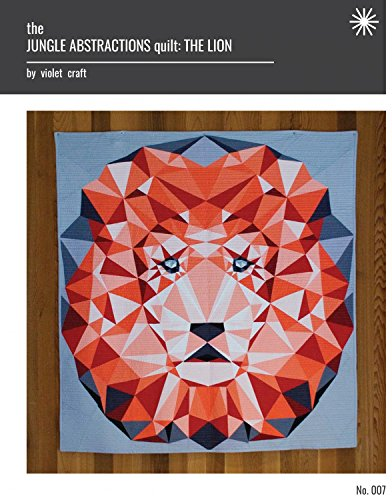 Violet Craft Jungle Abstractions The Lion Qlt Ptrn JungleAbstractionsTheLion Pattern ()