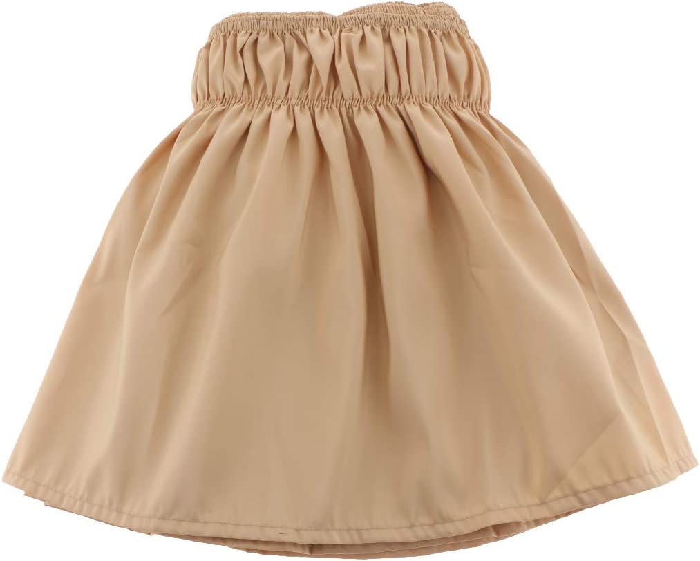LOVIVER Solid Color Classic Microfiber Bed Ruffle Skirt 38CM Drop Fits US Bed Yellow US Full