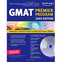 Kaplan GMAT Premier Program, 2009 (Book & CD-ROM)