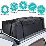 MODOKIT 100% Waterproof Car Cargo Roof Bag Roof Top Cargo Bag for Vehicles with Rack Crossbars, Heavy Duty Roof Cargo Bag (20 Cubic Feet)