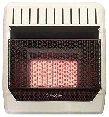 ProCom Ventless Propane Gas Wall Heater – 18,000 BTU, Model#: ML2PHG