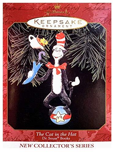 Hallmark 1999 Ornament The Cat in The Hat # 1 Dr. Seuss Ornament