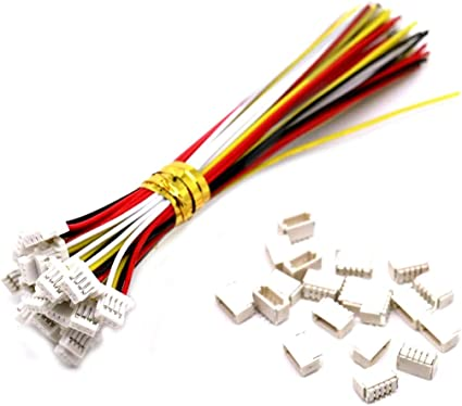 female 5 X 18 Inch JST 4-Pin Cable 4 Wire Extender Connector