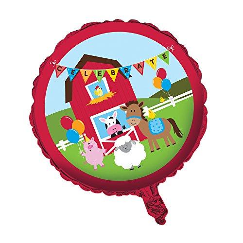 Creative Converting Farmhouse Fun Metallic Balloon