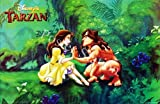 Wm-111 Tarzan Disney's Cartoon, Comics Poster - Rare New - Image Print Photo