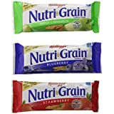 Kellogg's Nutri Grain Cereal Bar 48 Count, 1.77 kg