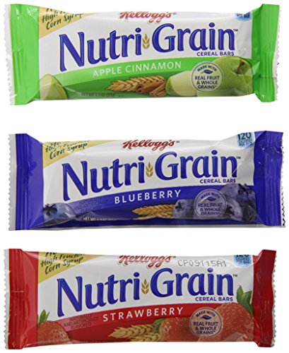 Nutri-Grain Kellogg's Cereal Bars Variety Pack, 48 ()