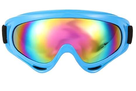 468d396088b Night Vision Mirror Polarized fpv Sun glasses Snowboard Motorcycle Ski  Goggles (BLUE)