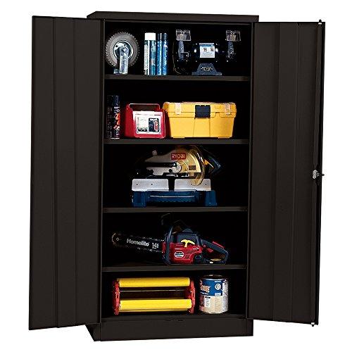 Sandusky Lee Rta7000 09 Black Steel Snapit Storage Cabinet