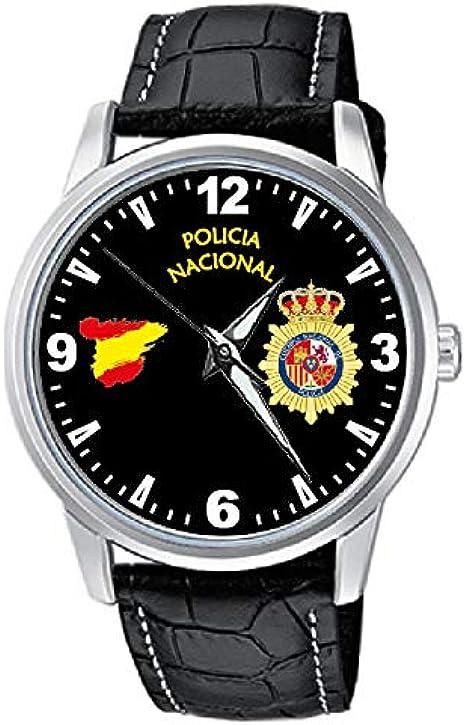 CASIO® Reloj Policía Nacional Sumergible: Amazon.es: Relojes