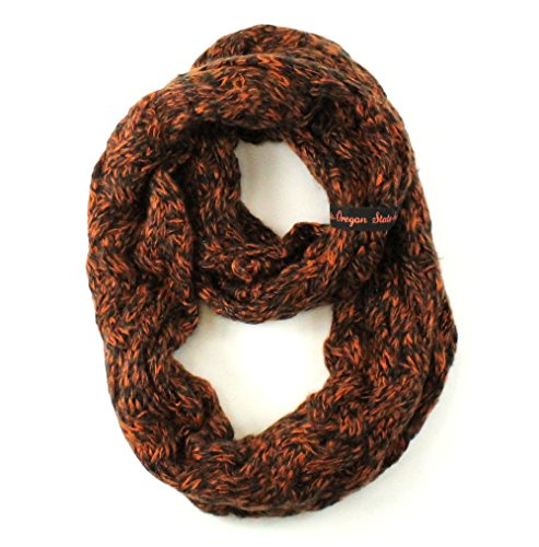 ZooZtaz NCAA Oregon State Beavers Duo Knit Infinity Scarf by ZooZtaz