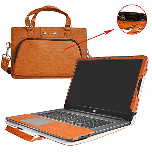 765 Case,2 in 1 Accurately Designed Protective PU Leather Cover + Portable Carrying Bag For 17.3