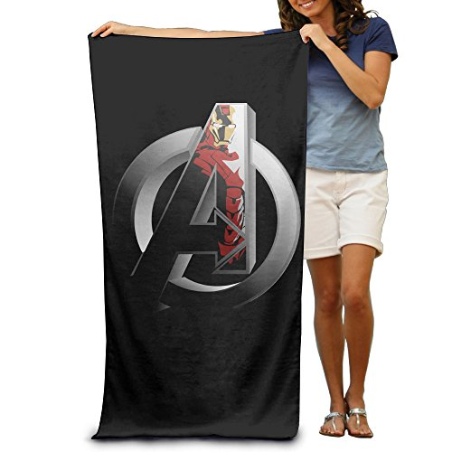Age Of Ultron Quicksilver Costume (KathyB Avengers Iron Man Logo Absorbent Towels For Adult)