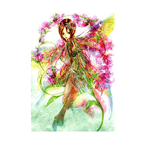 Lvyuanda Fairy Girl 5D Diamond Embroidery Painting DIY Cross Stitch Home Room ation