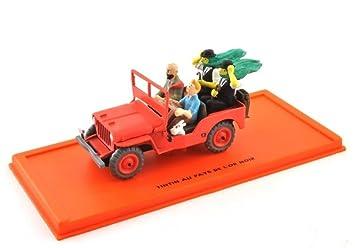 Modèle Sous Collection Moulé Voiture Jeep 143 Comic Tintin Pression dxtsChrQ