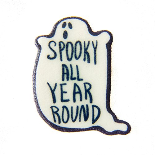 Black and White Horror Pin -